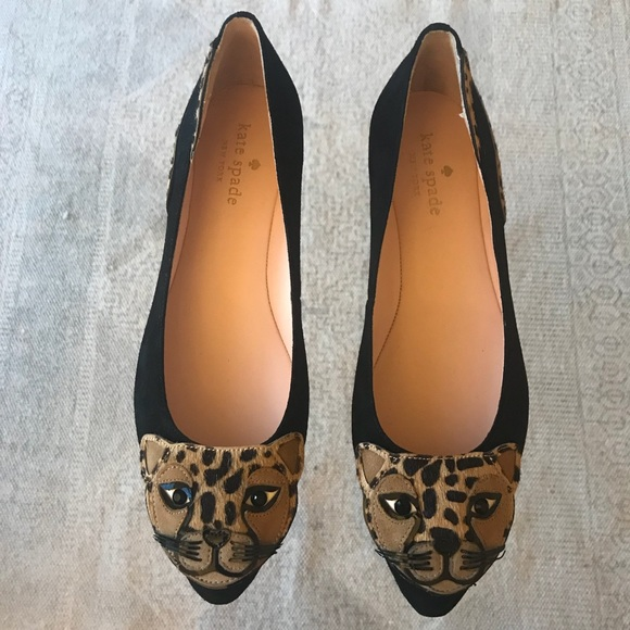7418578aae12 kate spade Shoes - Kate Spade Norman leopard Flats